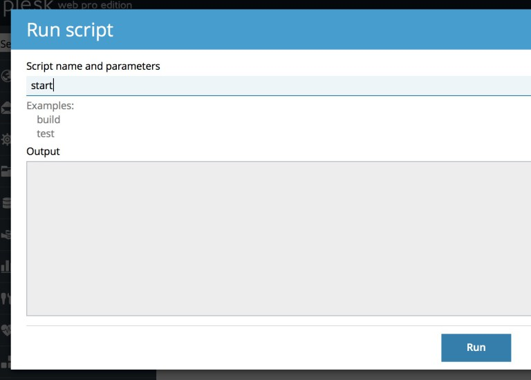 running custom scripts in Plesk for our custom Email marketing setup